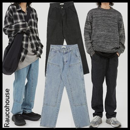 Raucohouse More Jeans Unisex Street Style Jeans