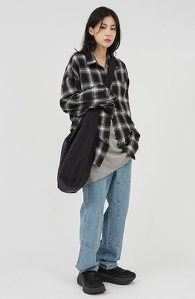 Raucohouse More Jeans Unisex Street Style Jeans 2