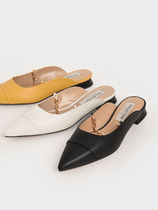 Charles&Keith Casual Style Chain Plain Party Style Office Style