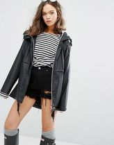 HUNTER More Outerwear Casual Style Plain Sheer Outerwear 6