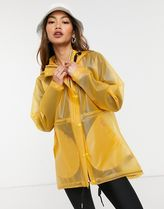 HUNTER More Outerwear Casual Style Plain Sheer Outerwear 16