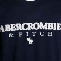 Abercrombie & Fitch Crew Neck Crew Neck Cotton Short Sleeves Logo Surf Style 4