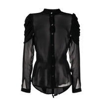 Ann Demeulemeester Casual Style Long Sleeves Party Style Elegant Style
