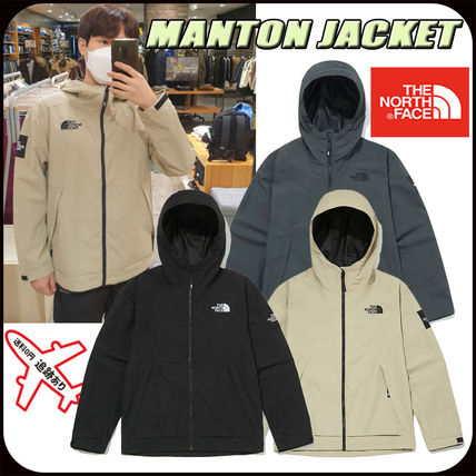 THE NORTH FACE Logo Unisex Street Style Jackets