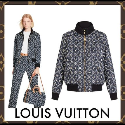 Louis Vuitton Since 1854 Reversible Bomber Jacket