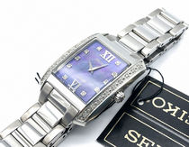 SEIKO Analog Casual Style Blended Fabrics Square Party Style Halloween 18