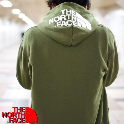 THE NORTH FACE Hoodies Long Sleeves Plain Cotton Logo Outdoor Hoodies