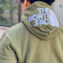 THE NORTH FACE Hoodies Long Sleeves Plain Cotton Logo Outdoor Hoodies 4