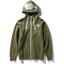 THE NORTH FACE Hoodies Long Sleeves Plain Cotton Logo Outdoor Hoodies 5