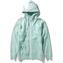 THE NORTH FACE Hoodies Long Sleeves Plain Cotton Logo Outdoor Hoodies 6