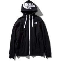 THE NORTH FACE Hoodies Long Sleeves Plain Cotton Logo Outdoor Hoodies 8