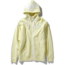 THE NORTH FACE Hoodies Long Sleeves Plain Cotton Logo Outdoor Hoodies 9