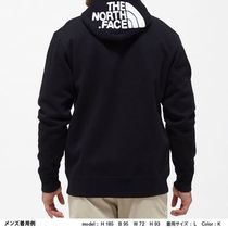 THE NORTH FACE Hoodies Long Sleeves Plain Cotton Logo Outdoor Hoodies 14