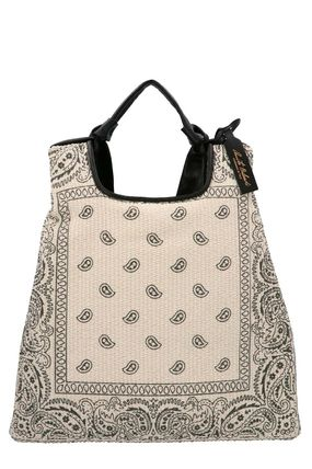 Casual Style Street Style Logo Shoulder Bags