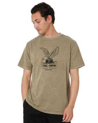 Street Style Other Animal Patterns Cotton Short Sleeves Logo
