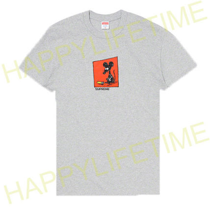 Supreme More T-Shirts Unisex Street Style Logo T-Shirts 3