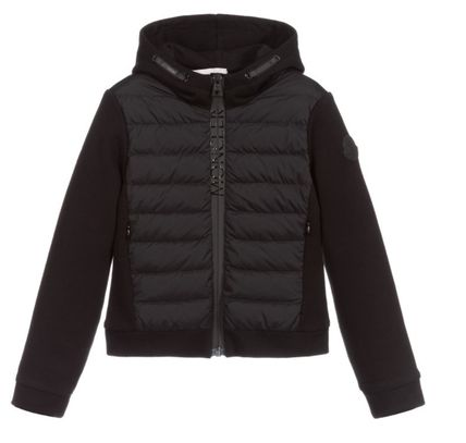 MONCLER Blended Fabrics Kids Girl Tops