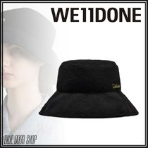 We11Done Unisex Street Style Bucket Hats Keychains & Bag Charms