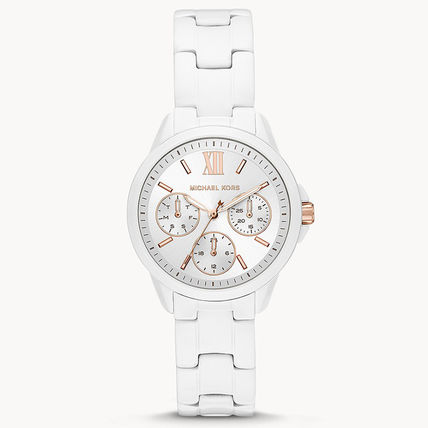 Michael Kors Casual Style Metal Round Party Style Quartz Watches