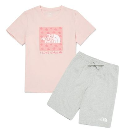 THE NORTH FACE Unisex Street Style Kids Girl Tops