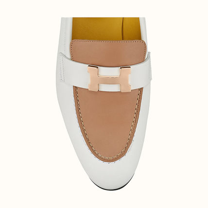HERMES Paris Casual Style Elegant Style Flats