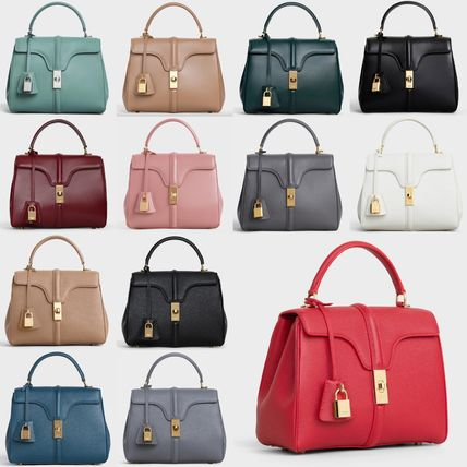CELINE 16 Small 16 Bag In Satinated Calfskin