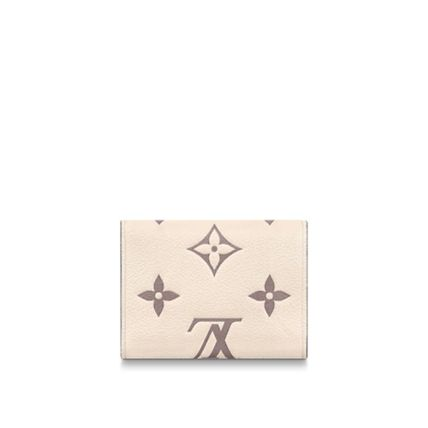 皮革 Folding Wallet Small Wallet Logo 折叠钱包