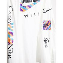 Nike Long Sleeve Crew Neck Pullovers Street Style Long Sleeves Cotton 8