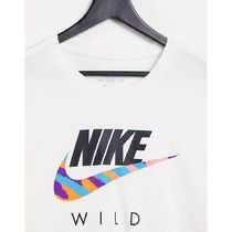 Nike Long Sleeve Crew Neck Pullovers Street Style Long Sleeves Cotton 9
