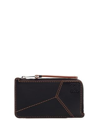 LOEWE PUZZLE Puzzle Coin Cardholder In Smooth Calfskin