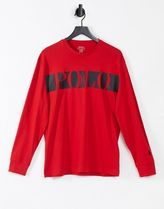 POLO RALPH LAUREN Long Sleeve Crew Neck Pullovers Street Style Bi-color Long Sleeves Plain 6