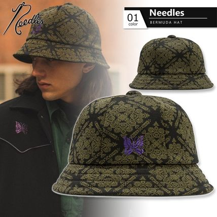 Needles Street Style Wide-brimmed Hats