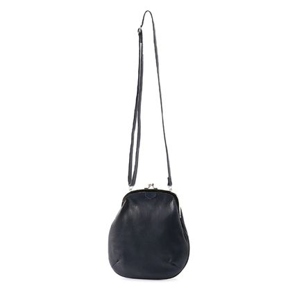 Yohji Yamamoto Casual Style Plain Leather Party Style Crossbody