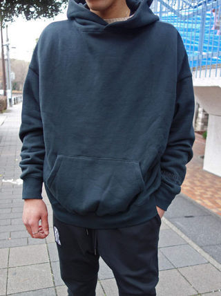 FEAR OF GOD ESSENTIALS Pullovers Street Style Long Sleeves Plain Cotton Oversized