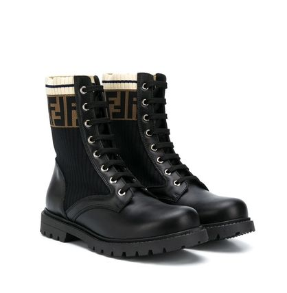 FENDI Unisex Kids Girl Boots