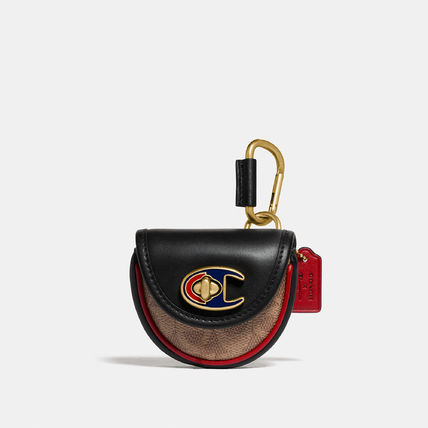 Coach TURNLOCK Canvas Street Style Collaboration Leather Logo