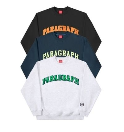 Paragraph Sweat Street Style Long Sleeves Cotton Long Sleeve T-shirt
