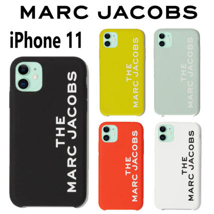 MARC JACOBS THE MARC JACOBS Plain Silicon Logo iPhone 11 Pro iPhone 11 Pro Max iPhone 11