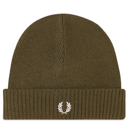 FRED PERRY Unisex Knit Hats