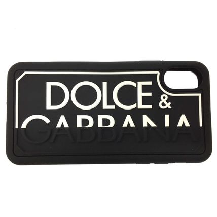 Dolce & Gabbana Silicon iPhone X iPhone XS Logo Smart Phone Cases