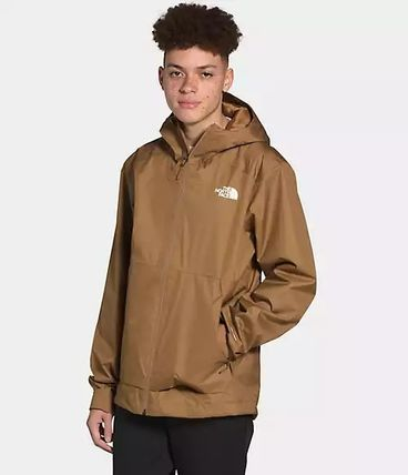 THE NORTH FACE Logo Unisex Studded Plain Long Street Style Chester Coats