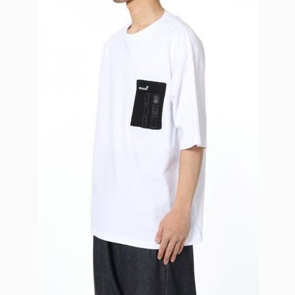 Yohji Yamamoto Crew Neck Plain Cotton Short Sleeves Logo Designers