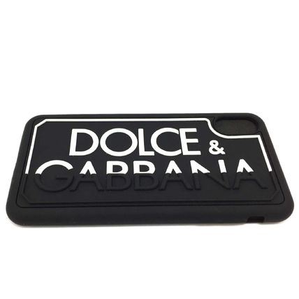 Dolce & Gabbana Silicon iPhone XS Max Logo Smart Phone Cases