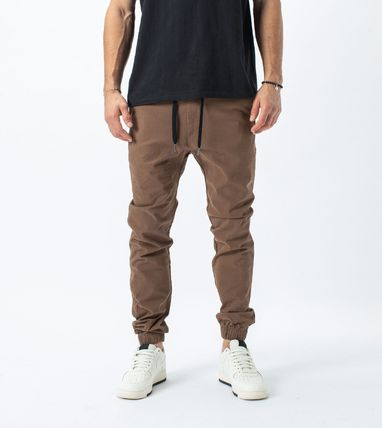 Ron Herman Plain Cotton Joggers Jeans