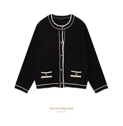Hackesch Cardigans Casual Style Street Style Office Style Elegant Style 2