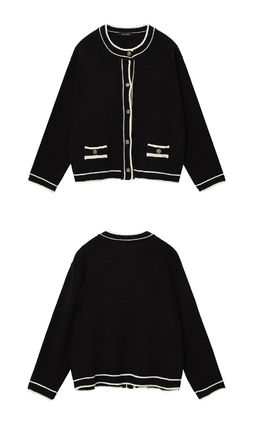 Hackesch Cardigans Casual Style Street Style Office Style Elegant Style 3
