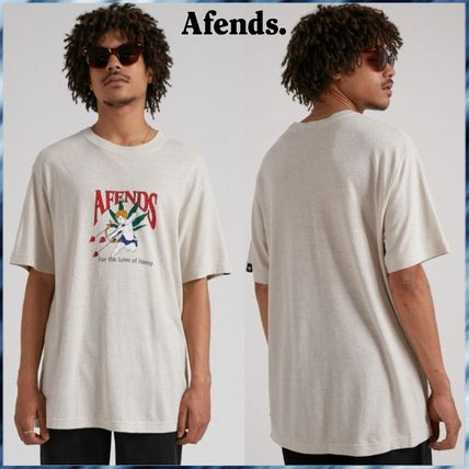AFENDS More T-Shirts Unisex Street Style T-Shirts
