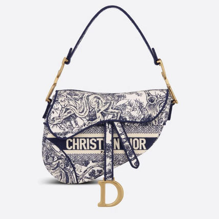 Christian Dior Casual Style Street Style 2WAY Handmade Party Style