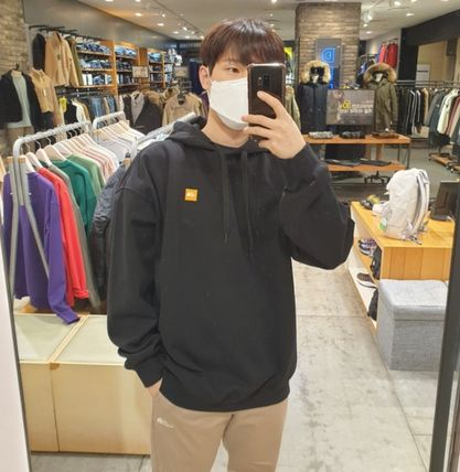 THE NORTH FACE Hoodies Stripes Unisex Street Style Outdoor Hoodies 3