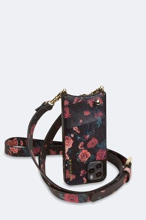 Flower Patterns Street Style Leather iPhone 8 Plus iPhone X